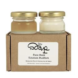 Gezichtsmasker honing en klei