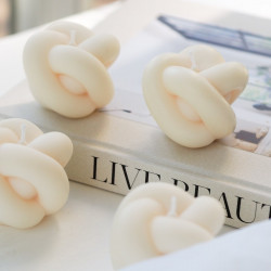 Knot Candle - kaars uit...